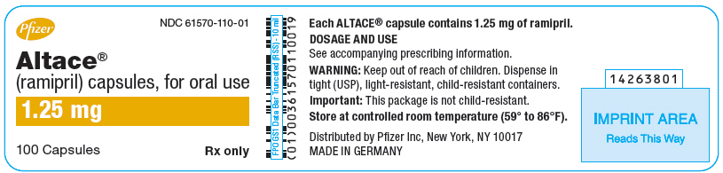 PRINCIPAL DISPLAY PANEL - 1.25 mg Capsule Bottle Label